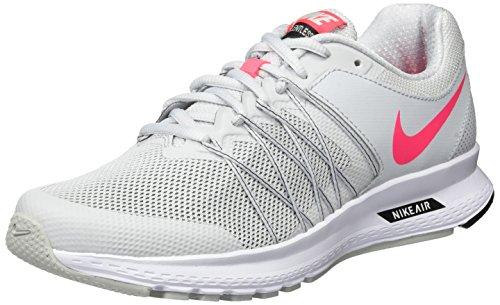 Nike Air Relentless 6, Scarpe Running Donna Grigio (Pure Platinum/racer Pink-black-white)