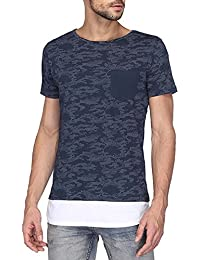 VETTORIO FRATINI By Shoppers Stop Mens Round Neck Printed T-Shirt