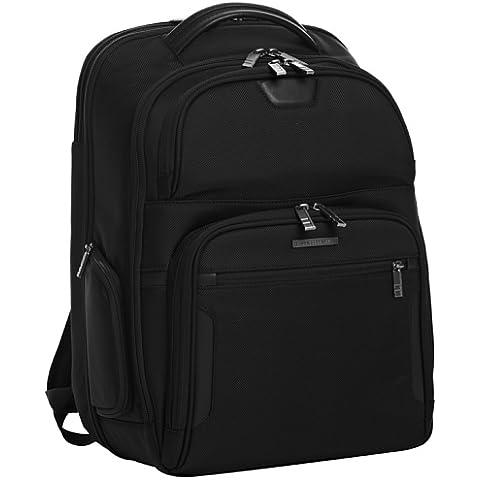 Briggs & Riley Large Clamshell Backpack - Maletín para portátil de sintético unisex