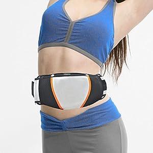 Denshine Elektrischer Vibro Shape Massagegürtel Bauchfett Verbrennen Körper Schlank