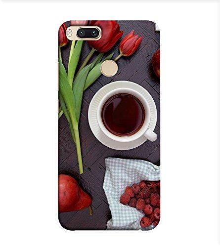 OBOkart Coffee Day design 3D Hard Polycarbonate (Plastic) Designer Back Case Cover for Xiaomi Mi A1