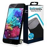 SEITRONIC Display iPhone 7 Plus Schwarz Vormontiertes Ersatzdisplay Komplettset mit Montagematerial LCD Ersatz für Touchscreen Glas Reparatur (iPhone 7 Plus, schwarz)