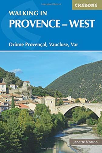 Walking in Provence - West: Drome Provencal, Vaucluse, Var (Cicerone Guides) (Norton-karte)
