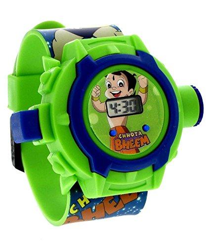 DFS's premium CHOTA BHEEM PROJECTOR WATCH (24 Images)(Multi-Colour) -- Electronic Digital Toy Watch -- Birthday Return Gift