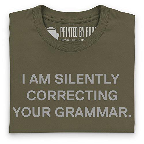 Correction T-Shirt, Herren Olivgrn