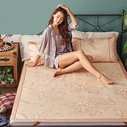 LJ&XJ Faltbare kühlen Sommer pad matratze schlafen,Kühlung der matratze top mat atmungsaktive Sommer schlafen mat-Bing SI,König & königin-A Twinch2 (Kühlung Matratze Königin)