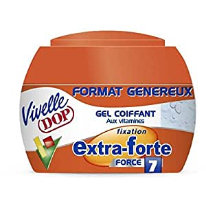 Vivelle Dop - Dop gel coiffant pot fixation extra forte - 200ml