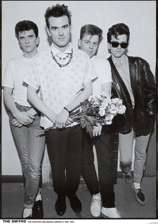 Poster 'The Smiths Electric Ballroom 1983 Music Poster Print', Dimensione: