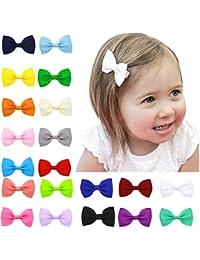 20 piezas de los bebés Los niños pequeños para niños Tiny Boutique arcos del pelo clips pasadores