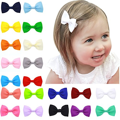 20-Pcs-Baby-Girls-Toddlers-Kids-Tiny-Boutique-Hair-Bows-Clips-Barrettes