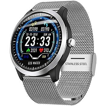Leap-G Montre de Intelligente N 58 Smartwatch ECG Montre Sport ECG + PPG ECG