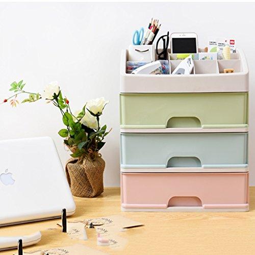 L&Y Kitchen furniture Kosmetik-Hautpflege-Produkte Aufbewahrungsboxen Office-Desktop-Finishing-Boxen Aufbewahrungsboxen Schublade Storage Finishing Schränke Küche Regale Lagerregal ( größe : #3 ) (Schublade-storage-office)