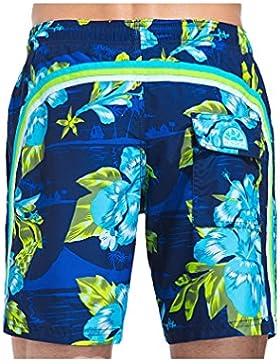 SUNDEK Azul Marino Short de Baño Hombre 505