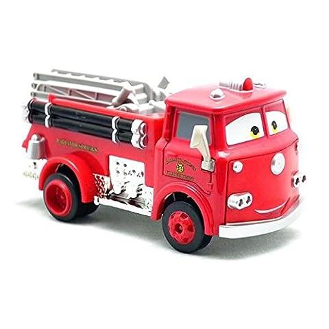 Disney Pixar Friction Cars Speed Up Fire Truck Siren Sound Toy 25cm 10