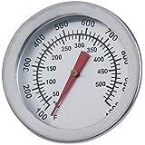 + ING barbacoa fumador termómetro de acero inoxidable calibre herramientas de barbacoa parrilla para cocinar