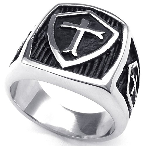 stainless-steel-rings-mens-bands-hield-cross-silver-black-retro-size-z-1-2-epinki