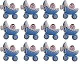 12 bebes cochecito Porcelana Fria Bautizo, Nacimiento, Baby Shower, Niño, Niña handmade flavors