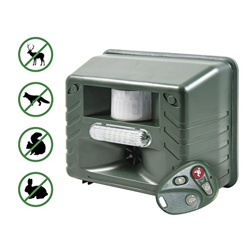 yard-sentinel-rc-ultrasonic-animal-pest-repeller-with-motion-detector-4-key-remote-strobe-sonic-pred