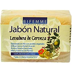 Bifemme Jabón Levadura de Cerveza - 100 gr