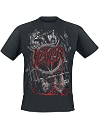 Official Slayer Pentagram Unisex Hoodie Ammunition Nation Eagle Repentless Tour