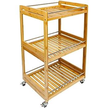 Ikea Bekvam Kitchen Trolley Birch 58x50 Cm Amazon Co