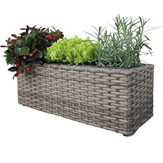 Habau Blumen- und Kräuterkasten, Grau, 48 x 18 x 18 cm (B007DD5Q7O) | Amazon price tracker / tracking, Amazon price history charts, Amazon price watches, Amazon price drop alerts
