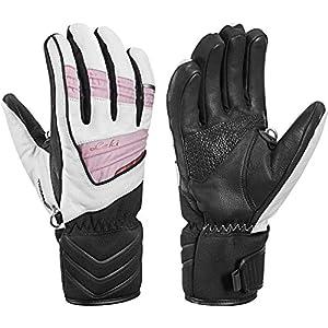 Leki Griffin Elite S Lady – Damen Leder Handschuhe mit Trigger S