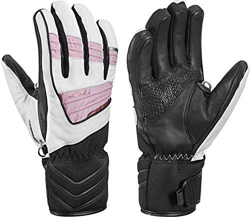 Leki Griffin Elite S Lady - Damen Leder Handschuhe mit Trigger S, Handschuhgröße Leki. Reusch & Fischer:7.5