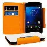 kwmobile Wallet Case Hülle für LG Google Nexus 4 -
