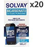 Set 20 SOLVAY Bicarbonato 500 gr. - Tintes de blanqueo de perborato