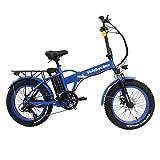 Velobecane snow bleu - Vélo Électrique Mixte Adulte, Bleu