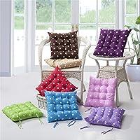 fhouses suave antiestrés silla cojín Pad lunares alfombrilla para oficina hogar, rojo rosado, 2
