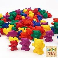 Pack 96 ositos tamaños y colores
