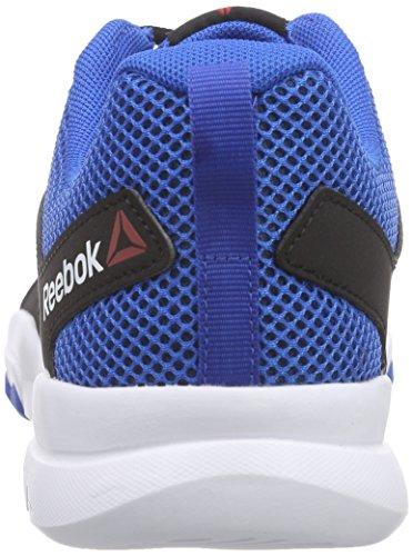 Reebok Sublite Train 4.0, Scarpe da Corsa Uomo Nero/grigio/blu/bianco (Black/Ash Grey/Blue Sport/White)