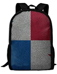 jhguihuyftyrtytgjkh Flag of Panama Adult Travel Backpack School Casual ypack Oxford Outdoor Laptop Bag College Computer