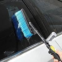 Cepillo para bomba de agua para lavado limpieza del coche con dispensador de jabón
