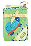 blueberryshop bestickt Baumwolle Kapuzen Bad/Pool/Strand Badetuch für Baby, grün Schildkröte