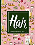 Hair Appointment Book: 7 Columns Appointment Note, At A Glance Appointment Book, Large Appointment Book, Cute Rome Cover