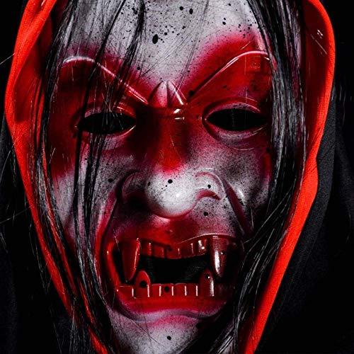 Xiao-masken Halloween Vollgesichtsmaske Für Party Supplies Horror Zombie Vampire Rot Scary Makeup Party Maske