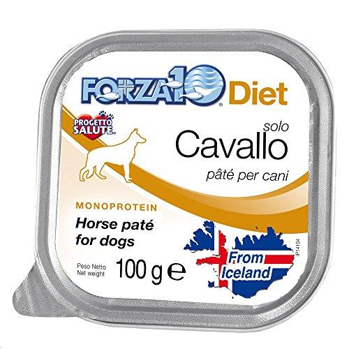 forza10 - FORZA 10 DIET MONOPROTEICO SOLO CAVALLO 100 GR. - 1819