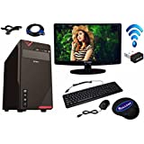 ROLLTOP® Assembled Desktop Computer |INTEL CORE 2 DUO 2.9 GHZ Processor |G 31 FRONTECH/ZEBRONICS Motherboard |Consistent 15.6/18/19 Inch LED Monitor | LG DVD Writter | USB FRONTECH Keyboard Mouse | Mini Wi Fi USB Adaptor | Windows 7(Trial) | MS OFFICE