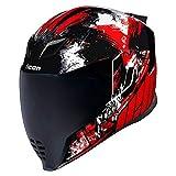 Icon-Moto Casco airflite Stim Red Rojo Novedad 2019