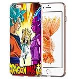 Flash Dragon Ball Z Super Cover Protettiva in TPU per Huawei Trasparente TPU Cartone animato