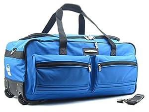 "Jeep XXL Extra Large Wheeled Holdall Travel Bag (31"")"
