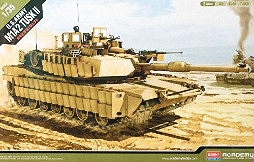 1/35 U.S. ARMY M1A2 TUSK II, Academy 13298