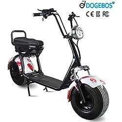 Scooter Eléctrico 1000W Negro (Varios colores)