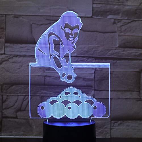 Säuglings-sensor (Die Sport Billard Schnelle Lieferung 3D Lampe Touch Sensor Super Geschenk Für Säugling Led Nachtlicht Lampe Für Geburtstag Dekor Laser)