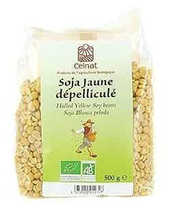 Soja Jaune dépelliculé - 500g