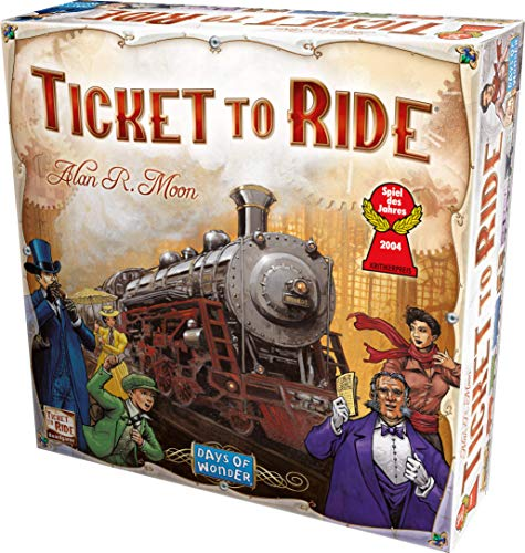 Ticket to Ride: The Cross-Country Train Adventure Game! (Zug Usa)
