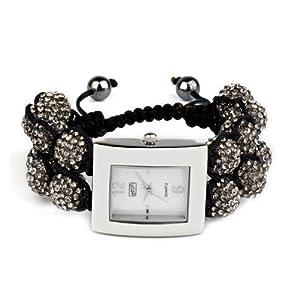 Eton 3019L-GY – Reloj analógico para Mujer de Otros Materiales Madre Perla